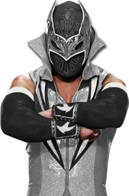 wrestling psd detail | Sin Cara Black Attire | PSD Detail