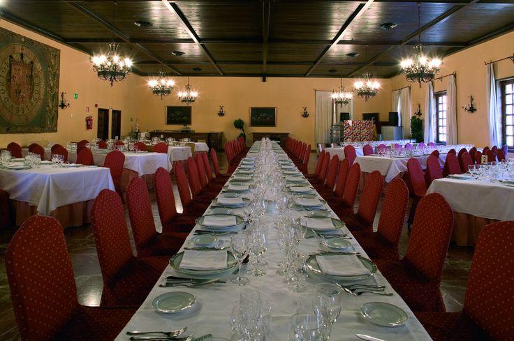 #parador de #tordesillas #bodas con #encanto #rusticChic #banquete #salon