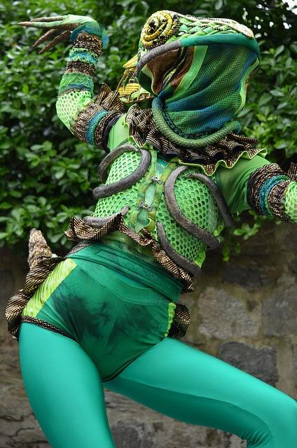 Lizard Woman by Joe Shlabotnik, via Flickr