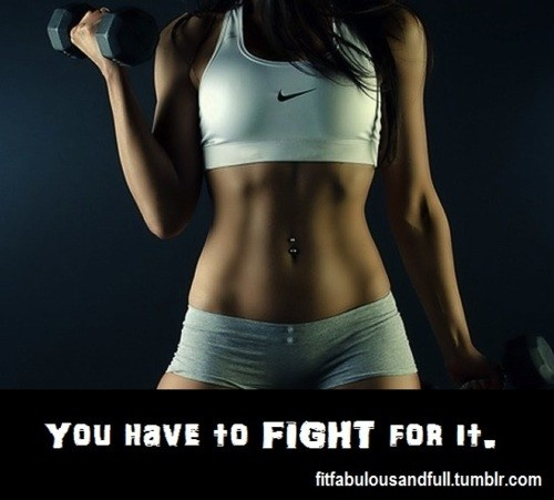 Fight for it.
