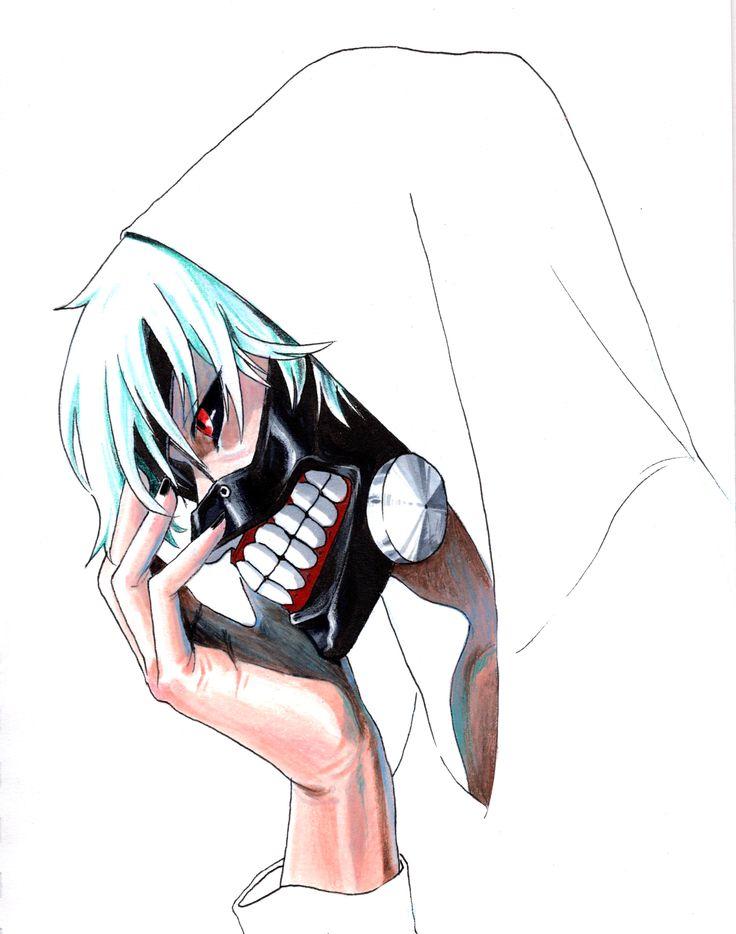 드로잉 일러스트 낙서 drawing illust doodle kaneki ken 카네키켄 tokyo ghoul 도쿄구울