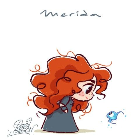 Merida by David Gilson