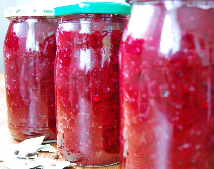 Przetwory domowe z warzyw i owoców: Buraczki do mielonego i schabowego