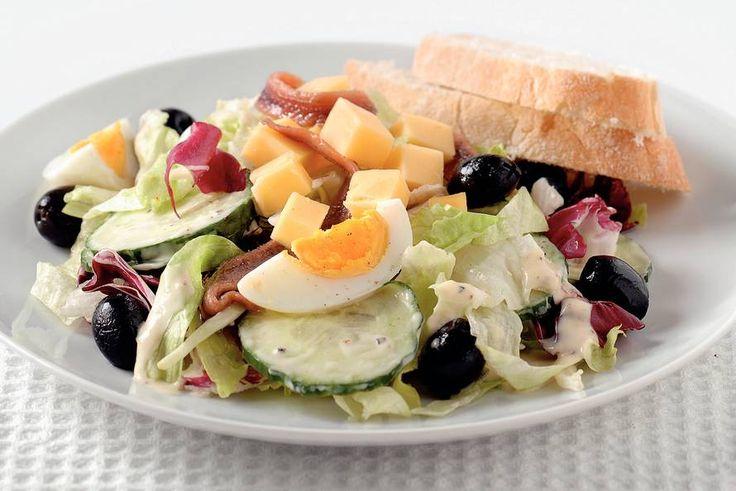Kijk wat een lekker recept ik heb gevonden op Allerhande! Italiaanse salade met ansjovis