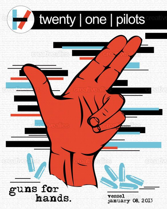 twenty | one | pilots Poster by BMurray on CreativeAllies.com