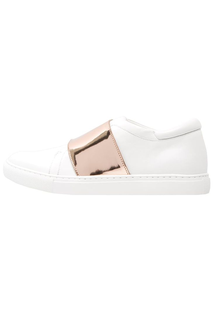 Kenneth Cole New York KONNER - Sneakers laag - white/rose gold - Zalando.