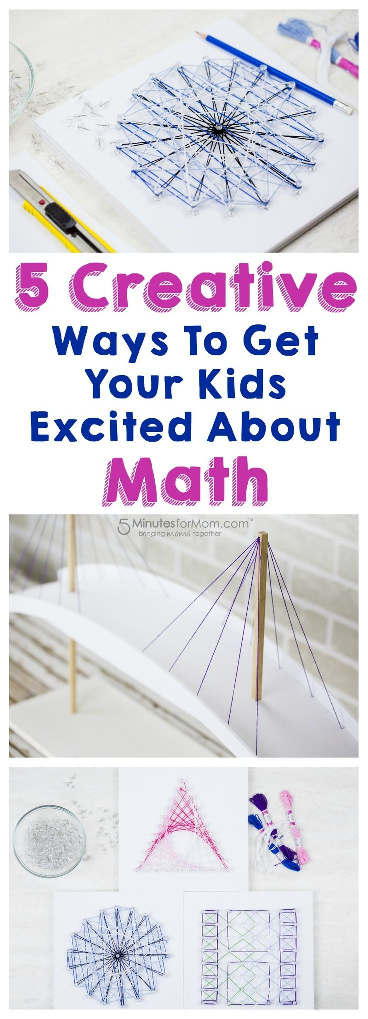 5 Creative Ways To Get Your Kids Excited About Math - With these creative tips, you can inject some mathematical learning into family fun time and make learning math more fun for your kids. Sponsored.