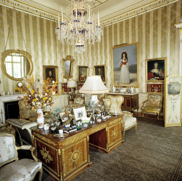 Interior del Palacio de Liria