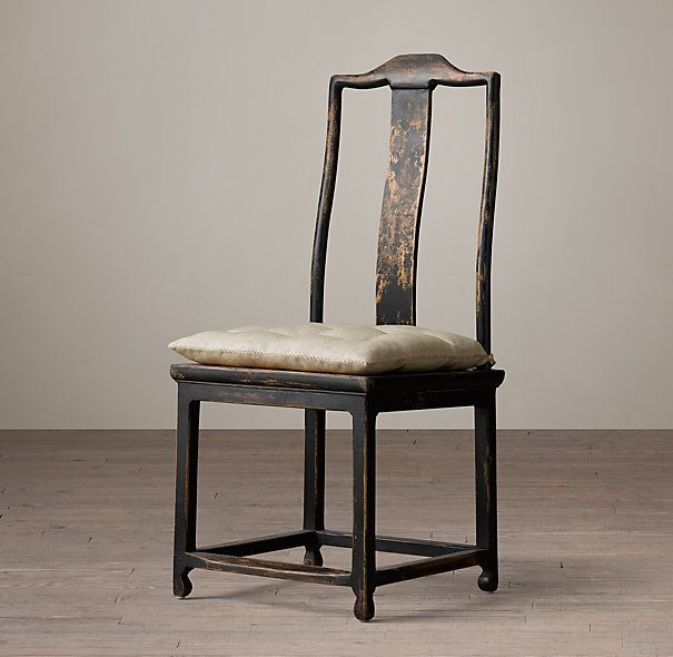Chinese Scholars Side ChairMing Dynasty Furniture Is Prized For Its Pure Forms Spare Lines And Elegant Proportions This Seat Evokes A Late