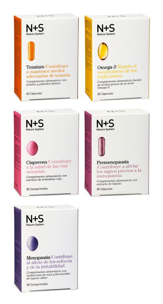 N+S vitamins packaging