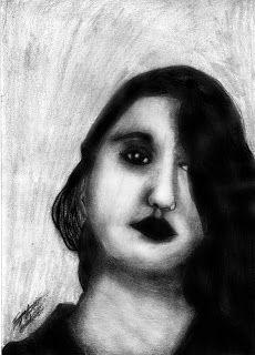 Tiago Amaral Arts: Retrato de Carolina