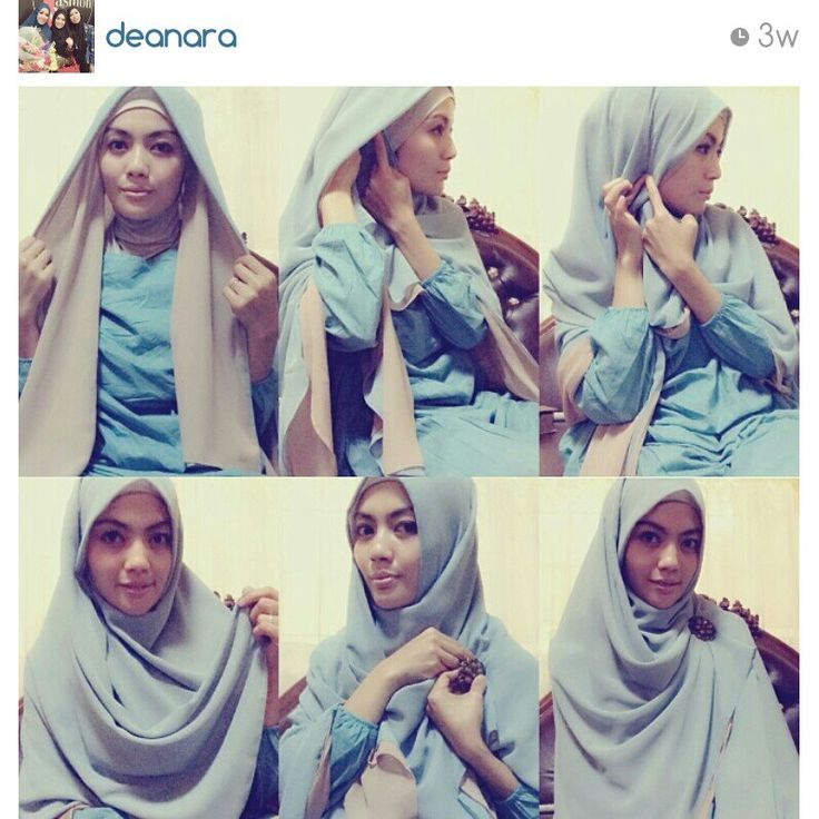 Khimar tutorial by @Merle Jacobs