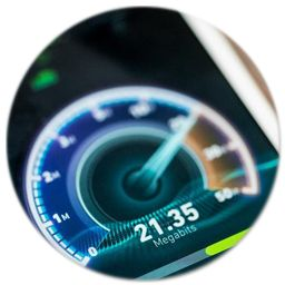 Measure Your Internet's Speed | GetSpeedTester.com
