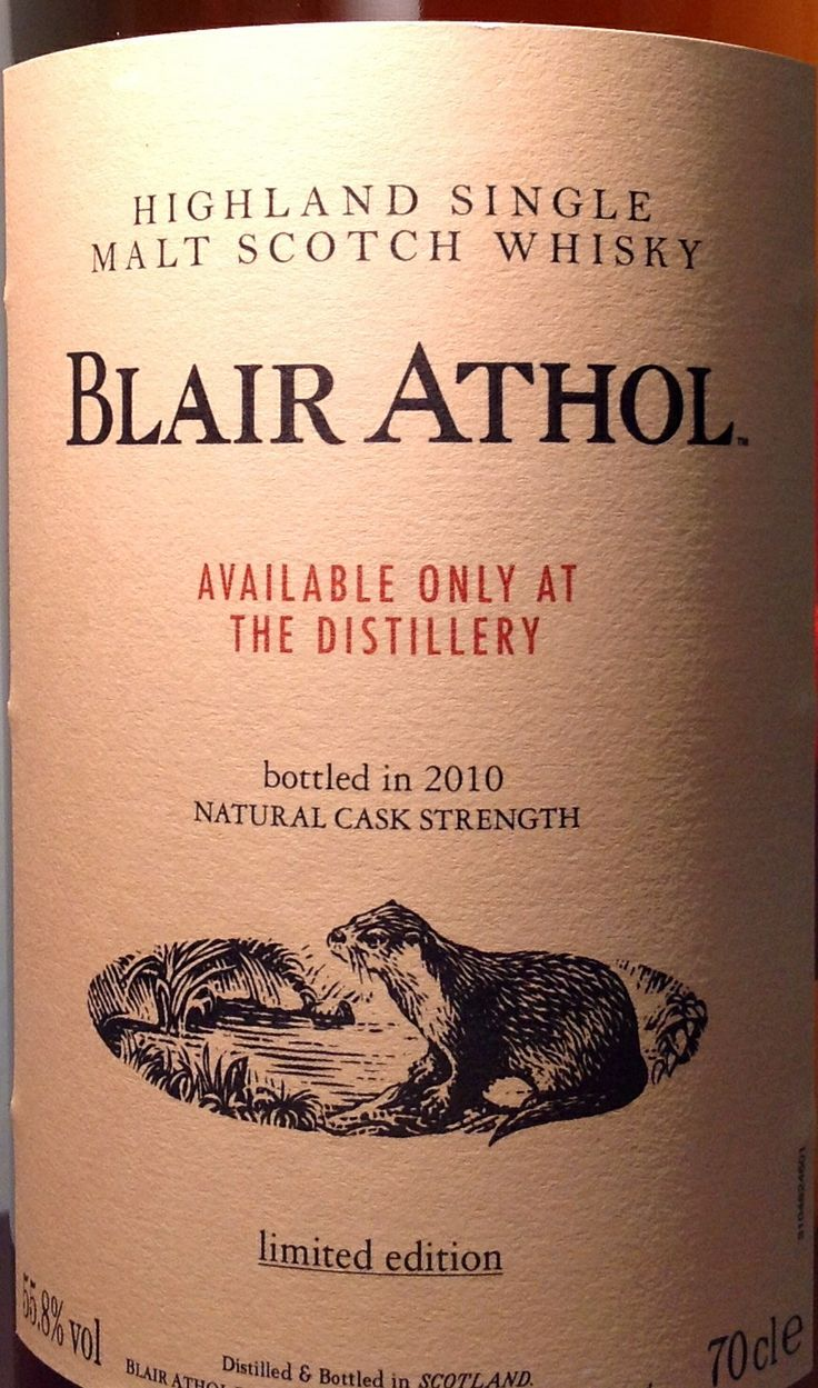 Blair Athol 55.8% Distillery Only