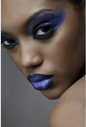 2018-19 Trends Makeups Real Technique: Blues &Blacks Mascaras-Lipsticks