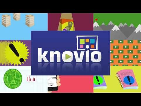 Knovio Mobile - Multimedia Online Presentations Made Easy It allows you to attach your voice or a video alongside your presentation: you can coordinate your narration to run parallel to the slides.