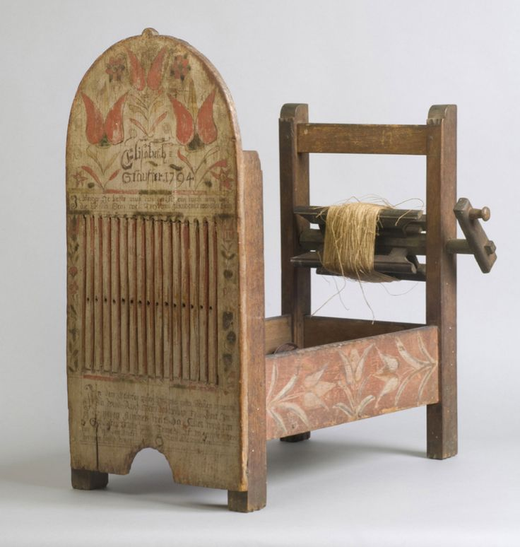 [My Chamber of Textile Thoughts. No: XXX | By Viveka Hansen] This second observation from North America includes a portrait from 1773, a box tape loom dated 1794, weaving from Philadelphia in July ...