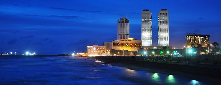 Take a tour around the city of Colombo by early evening, just as the sun sets.