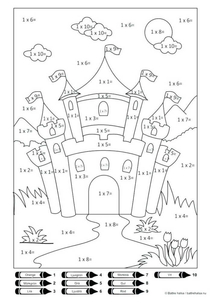 Printable Color By Number Multiplication Free Coloring Sheets Color Worksheets Math Coloring Worksheets Math Coloring