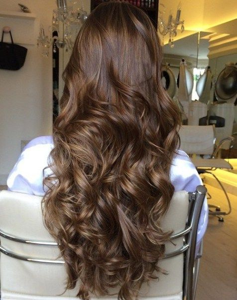 Ash Brown Hair With Chestnut Highlights