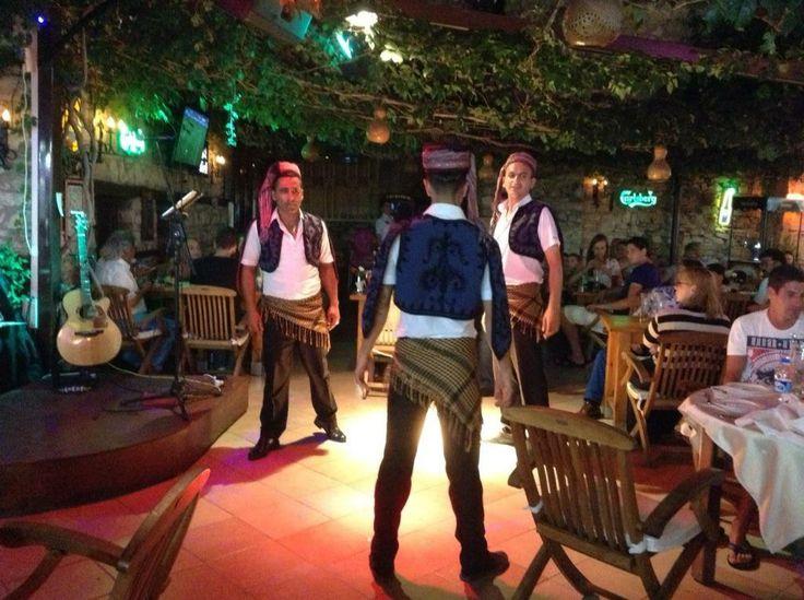 Turkish folk dancing at Planet Yucca  #kusadasi #tourismkusadasi