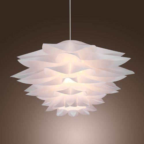 Lightinthebox 60w Floral Pendant Light In Petal Featured