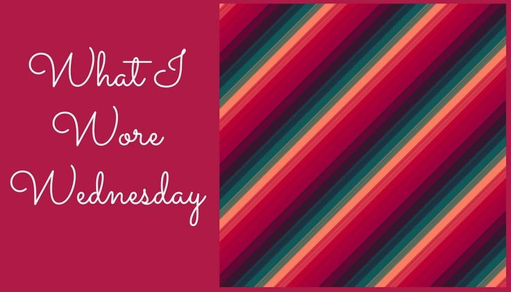 what i wore wednesday - blackhawks game (#wiww)