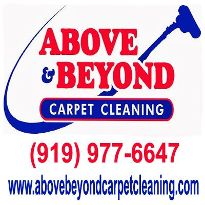 Above & Beyond Carpet Cleaning in Raleigh, NC |  Take a look at our work for proof we take special care of your property delivering outstanding value and industry best customer support. Call us today 919-977-6647!