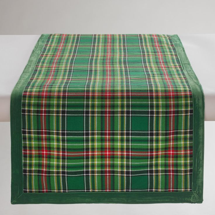 Metal Virgil Accent Table: Runners, Plaid And Table Runners