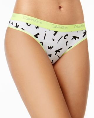 CALVIN KLEIN Calvin Klein Ck One Logo Thong Qf1368. #calvinklein #cloth # shop all lingerie