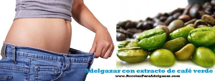 Granos de café verde y la pérdida de peso