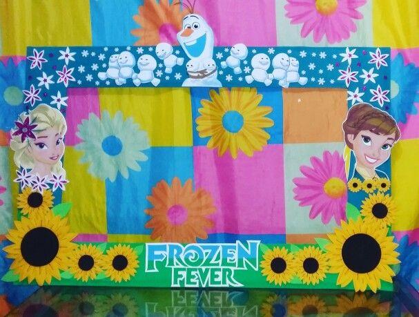 frozen fever cuadro