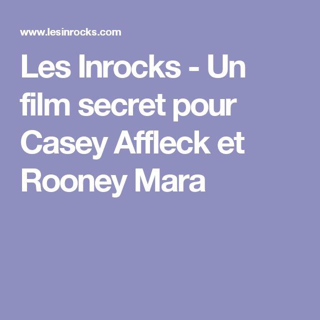 Les Inrocks - Un film secret pour Casey Affleck et Rooney Mara