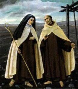 Our mystical reformers~St. Teresa of Avila and St. John of the Cross