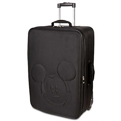 Rolling Mickey Mouse Head Luggage ... I want one .. or  4 :)