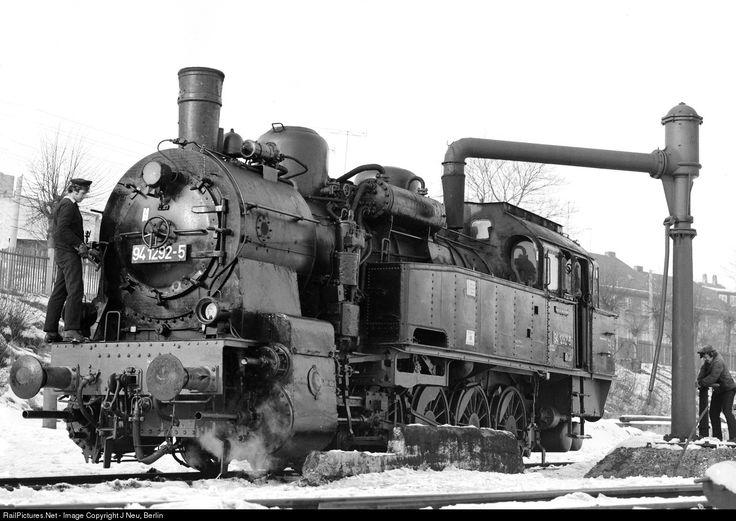 RailPictures.Net Photo: 94 1292 Deutsche Reichsbahn Steam 0-10-0 at Ilmenau, Germany by J Neu, Berlin