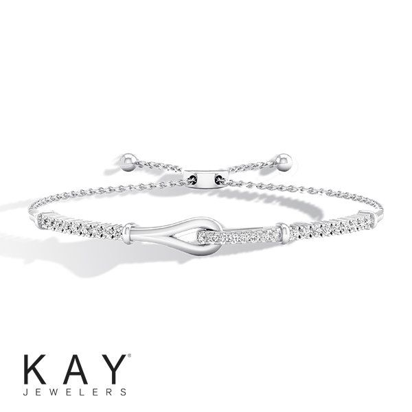 A Gift With Meaning This Diamond Love Be Loved Bolo Bracelet