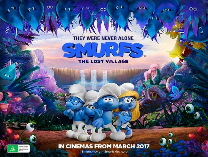 SMURFS: The Lost Village in Australian cinemas from March 30th 2017