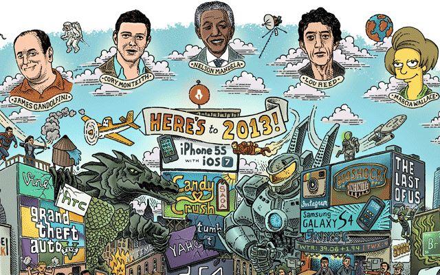 Maro Zucca résume l'année 2013 en une illustration