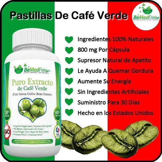 Café Verde Puro pastillas de 800 mg es la Ultímate Cápsulas quema de grasa para los hombres y de las mujeres (60 cápsulas) - estas pastillas para adelgazar están de bajo costo, son más seguros que los pastillas chinas, y tienen sin aditivos, transgénicos, y nunca cualquier los ingredientes artificiales
