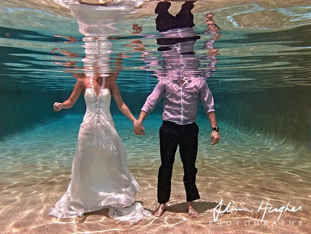 Underwater Wedding Photography | The Brides Tree - Sunshine Coast Wedding