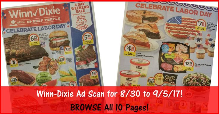 Who is ready to start working on their Winn Dixie Shopping List for 8/30? Click the Picture below to BROWSE all 10 Pages of the Actual Winn-Dixie Ad Scan for 8/30 to 9/5/17 ► http://www.thecouponingcouple.com/winn-dixie-weekly-ad-scan-8-30-17/  PLEASE LEAVE a Comment Below to HELP Keep this Post Bumped! It would Really be appreciated! :-)  Visit us at http://www.thecouponingcouple.com for more great posts!