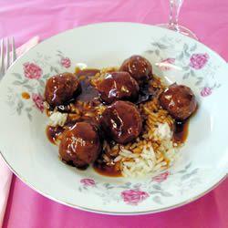 Sweet and Sour Meatballs II Allrecipes.com