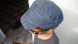 casquette cubaine, voir tuto dans mon dossier couture