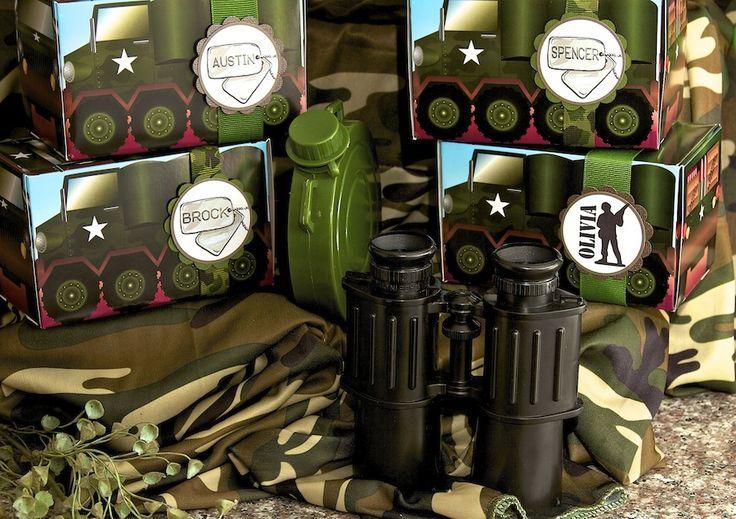 Kit Festa Infantil de Exército