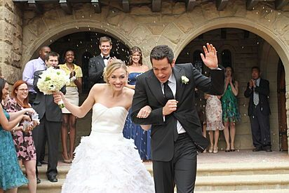 Chuck Bartowski and Sarah Walker finally get married! (Chuck)
