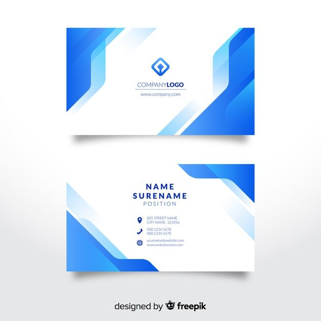 Skachivajte Abstraktnyj Shablon Vizitnoj Kartochki Besplatno Graphic Design Business Card Free Business Card Templates Business Card Design
