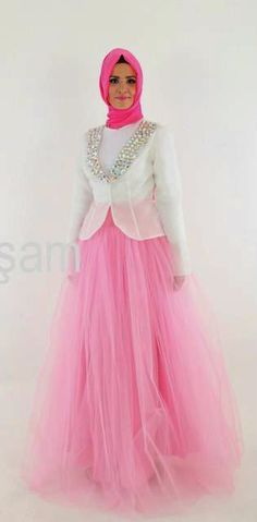 Evening dress muslimah princess