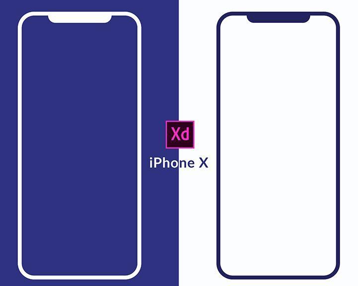 Free Minimalist Iphone X Wireframes Mockup For Xd Titanui Minimalist Iphone Wireframe Iphone