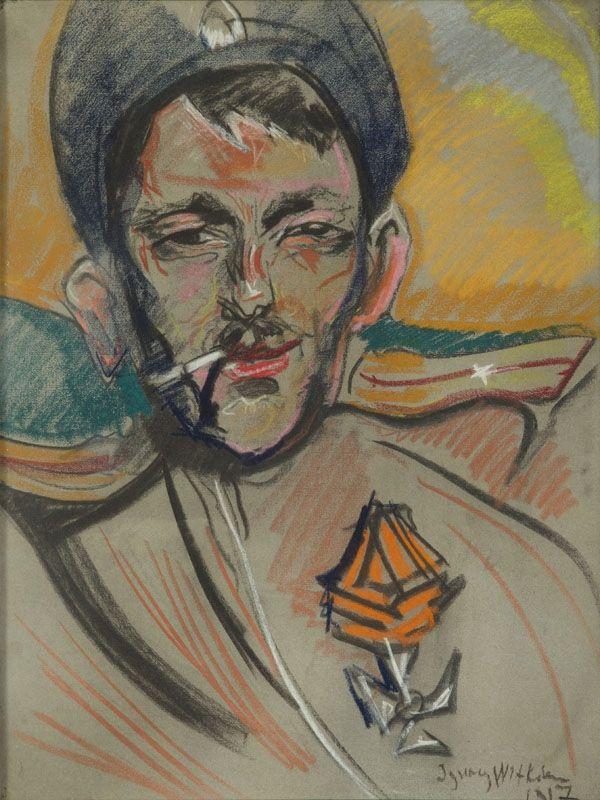Portret mężczyzny, 1917 r. - DESA Unicum